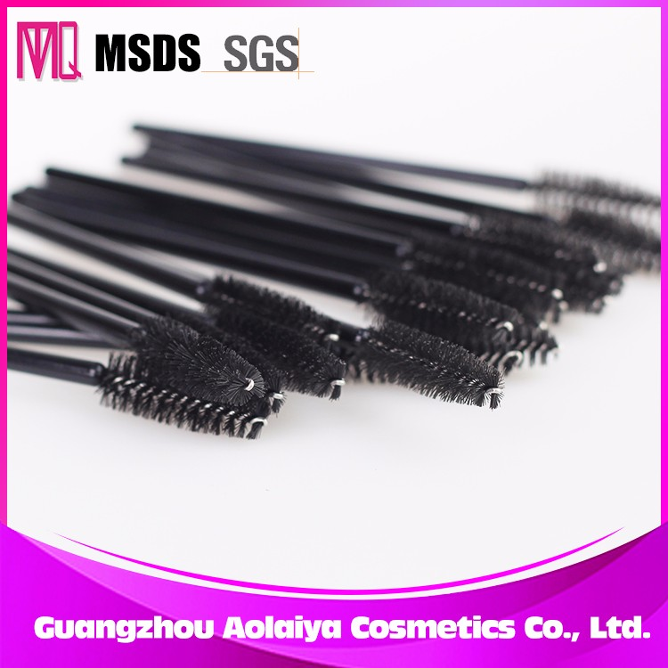 Wholesale MTQ Brand Eyelash Extensions Tool Mascara Wand Micro Disposable Plastic Brush
