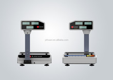 barcode electronic weighing scale with printer 15kg 30kg 40kg