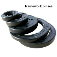 dust proof mechanical framework oil seal with Rubber and NBR