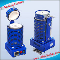 220V Mini Portable Small Furnace for Melting Gold/Silver/Copper