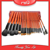 MSQ 21pcs Top Quality Sable Hair Brush Set With Cylinder Case