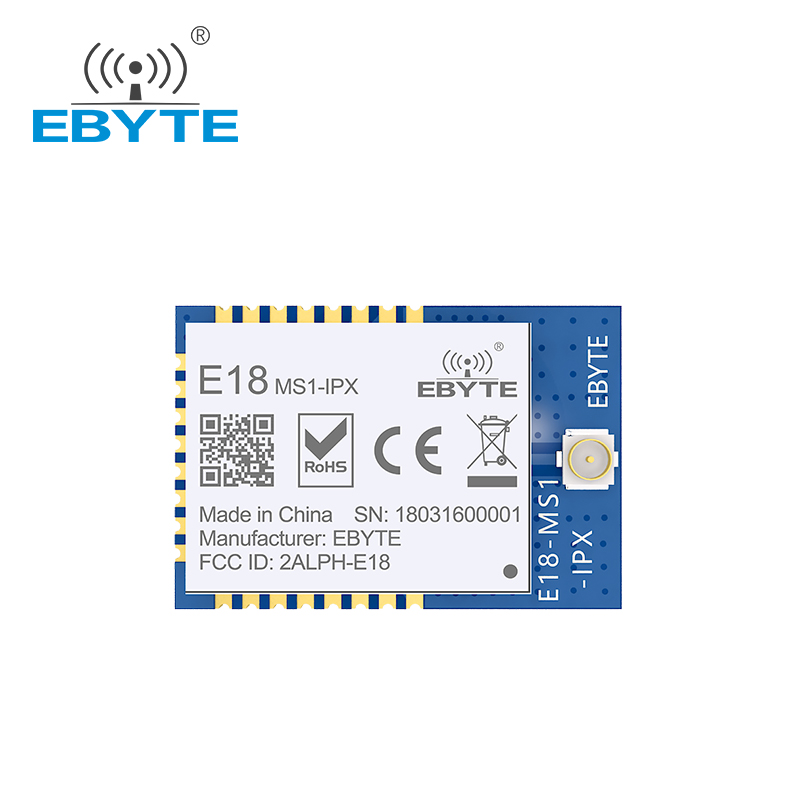 Ebyte low cost CE FCC E18-MS1-IPX SPI CC2530 2.4G zigbee mesh network wireless module