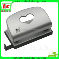 Decorative metal paper fancy hole punch