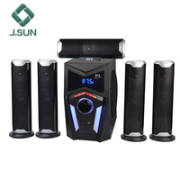 Newest speaker systems 5.1 wireless BT speaker surround sound xcl-brand home theater speakers