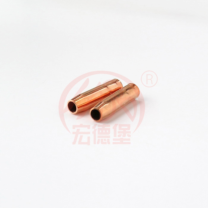 Copper 180A mig welding nozzle for Mig welding
