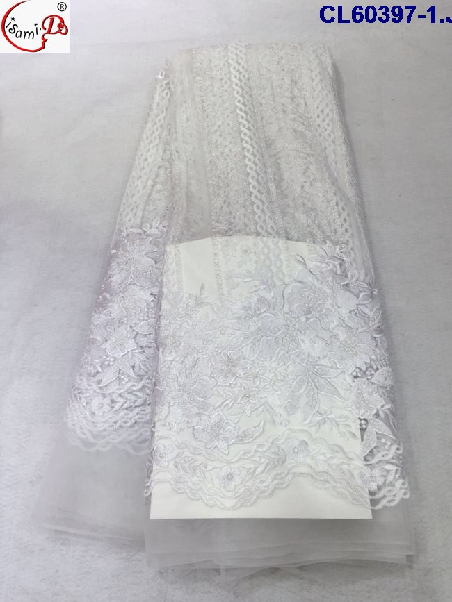 cl60397 red/white/royal blue /pink /grey graceful net lace fabric with beautiful embroidery fashion fabric with stones