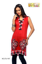 Women ladies Designer Clothing Kurta tunic kurta tunic Blouse tops dresses