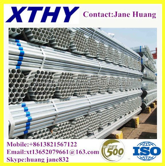 ASTM A106 Grade B gi pipeGALVANIZED STEEL PIPE FOR CENTRAL AIR CONDITIONER PIPE