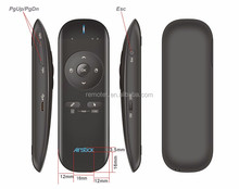 Gyroscope Fly Air Mouse 2.4ghz android remote control