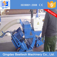 Concrete floor shot blasting machine, road surface cleaning machine