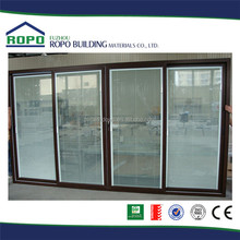 Excellent material Customized UPVC louvered storm door
