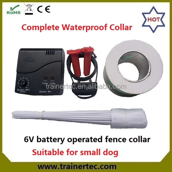 convenient portable pet electric fence for dogs and cats