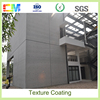 Best chemical resistance concrete color texture wall paint designs with factory price