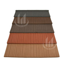shake light weight maintenance free terracotta alu metal roof tile