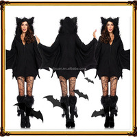 Halloween Fashion Party Female Batman Dress
