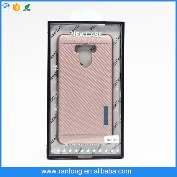 Weave Pattern Hard PC TPU Hybrid Drop Resistance Armor Mobile Back Cover For LG K10