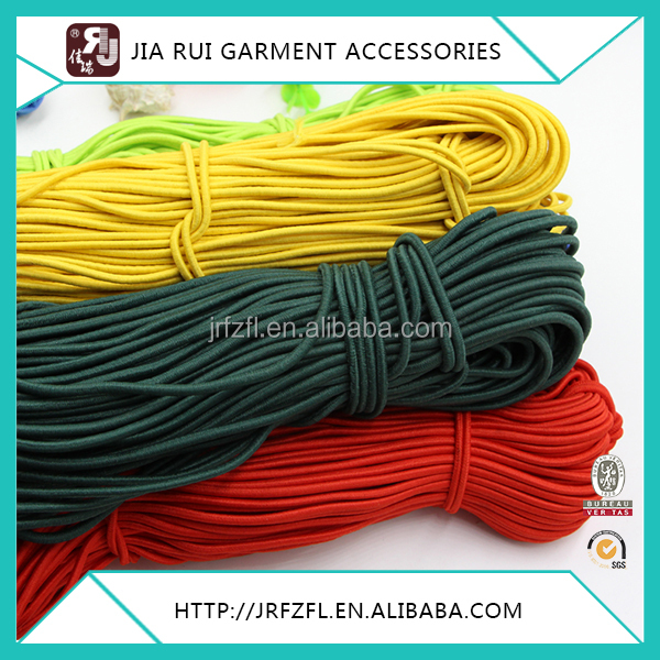 Strong Stretch Sport Round Polyester Elastic Rubber Rope