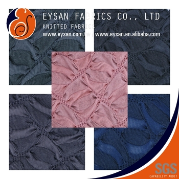 EYSAN Jacquard Elastane Polyester Cotton Knitted Fabric Cloths