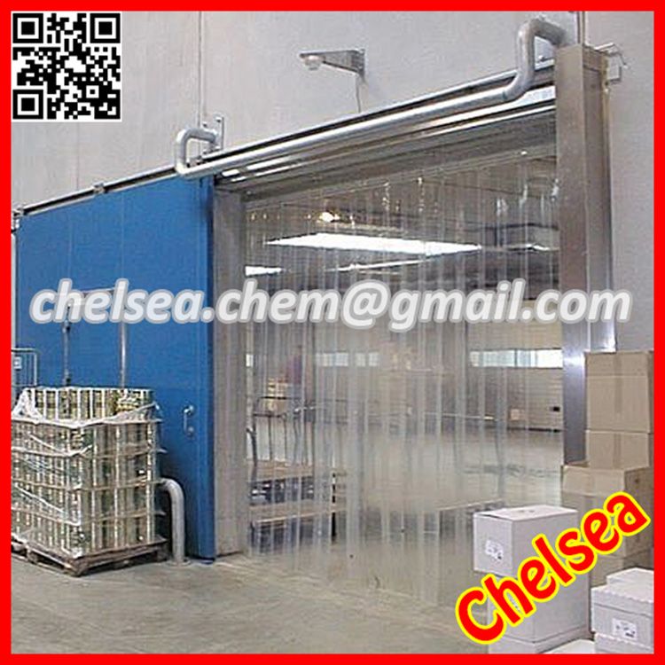 Insulation plastic curtain for garage
