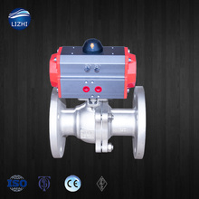 High Quality 2pc Flange Type Soft Seal Stainless Steel Ball Valve DIN
