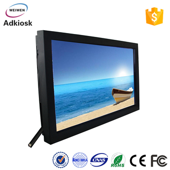 Wifi supported 42 inch indoor wall mounted kiosk commercial use