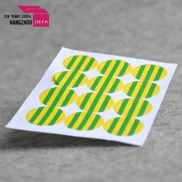 Cheap customized new design custom printing logo sticker