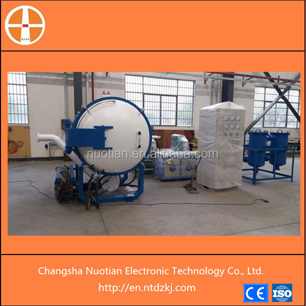 Hot sale inductotherm type PI film vacuum graphite furnace