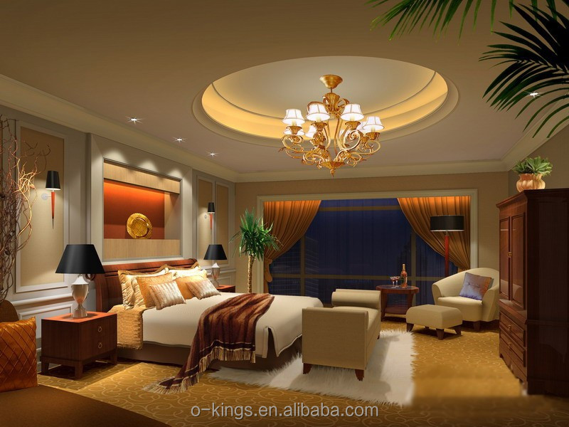 5 star hotel king size bedroom sets/america style moder bedroom sets