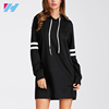 Varsity Striped Hoodie Summer Fashion Midi Dresses For Women New Look