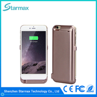 Super slim 8200mAh rechargeable battery case for iphone 6s