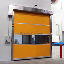 galvanized metal rolling doors