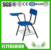 Wooden Metal Frame School Training Chair With Writing Board