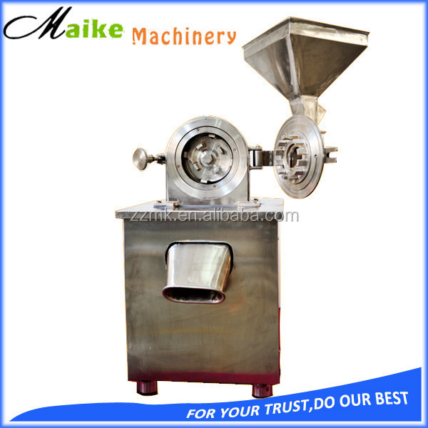 dried tea leaf herb grinding machine