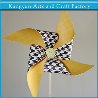 decor gifts print paper windmill pinwheel toy