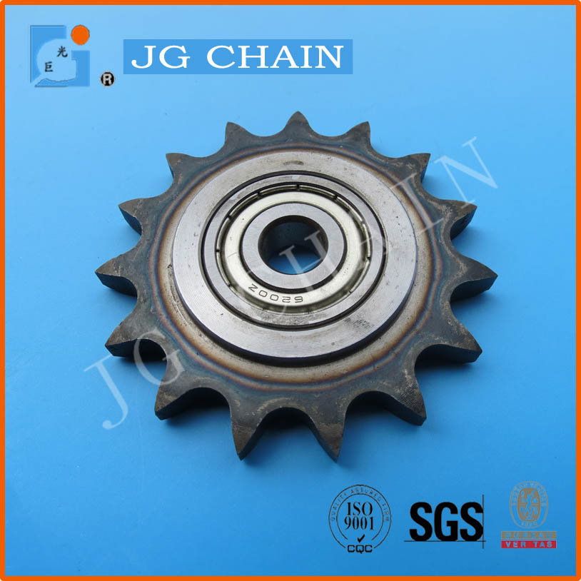 made in china steel heat treatment sprocket 10B-1 transimission chain wheels