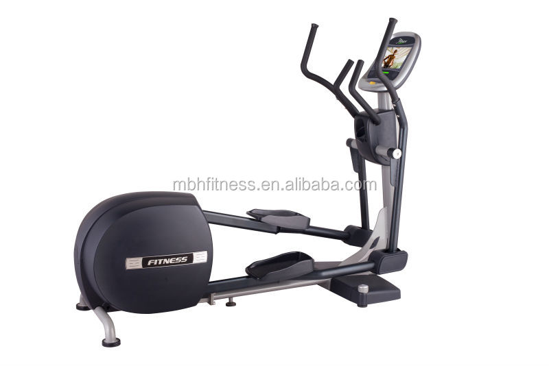 Elliptical with LCD screen and heart rate monitor, CE approved