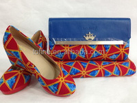 wholesale african wax print shoes/african wax bag