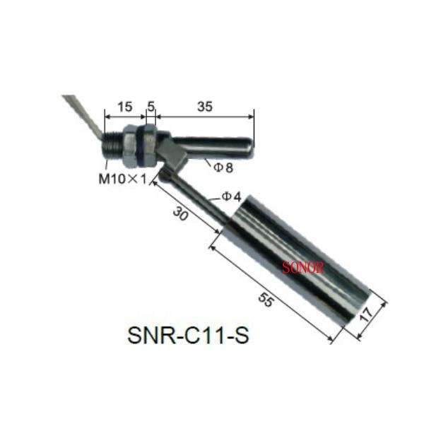 SNR-<strong>C11</strong>-S horizontal stainless steel float switch