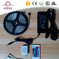 SMD 5050 rgb led decorative serial lights light with remote controller