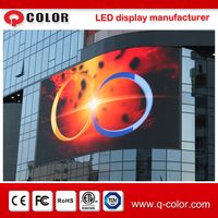 outdoor waterproof p5 p6 p8 p10 smd led display screen