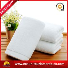 Cheap decorative bathroom towel cotton wet towel hot towel for airline