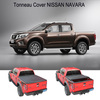 pickup truck accessories folding hard tonneau cover for NISSAN NAVARA