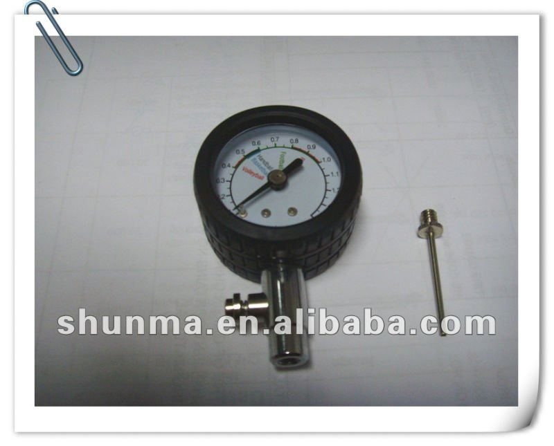 ball pressure gauge, with needle, 0-20psi, SMT4105C