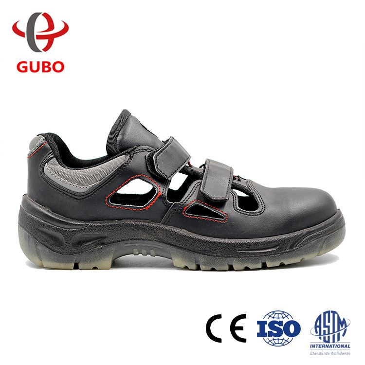 2017 China Summer High Quality Genuine Leather Men'S Security Shoes New Model Men Shoes
