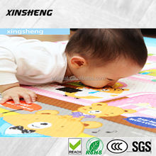non-toxic baby care playmat,educational play mat ,foldable baby play gym mat