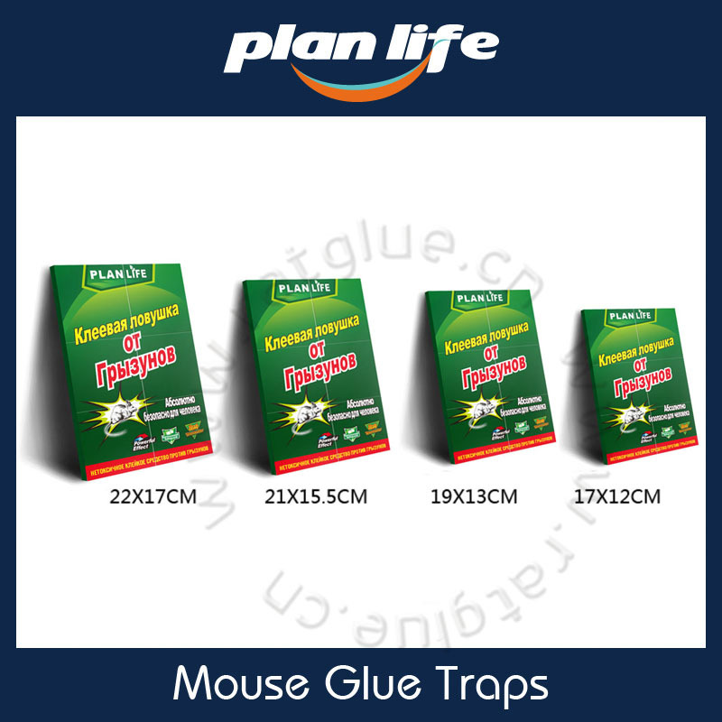 Mouse Insect Spider Glue Traps Mouse Extra Sticky Glue Trays Lengket lem Nampan