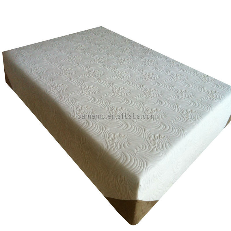 "Cheapest new design compressed top 10"" memory foam mattress"