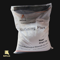 High purity aluminum refining flux and cover flux for aluminum melt casting