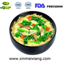 freeze dried instant spinach egg soup