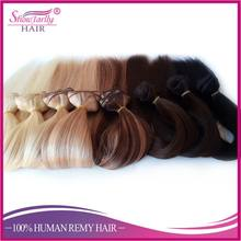 top grade 20inch full head set wholesale thick end clip in layer hair extension
